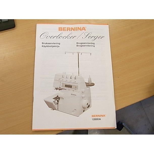 Brugsanvisning Bernina 1200DA