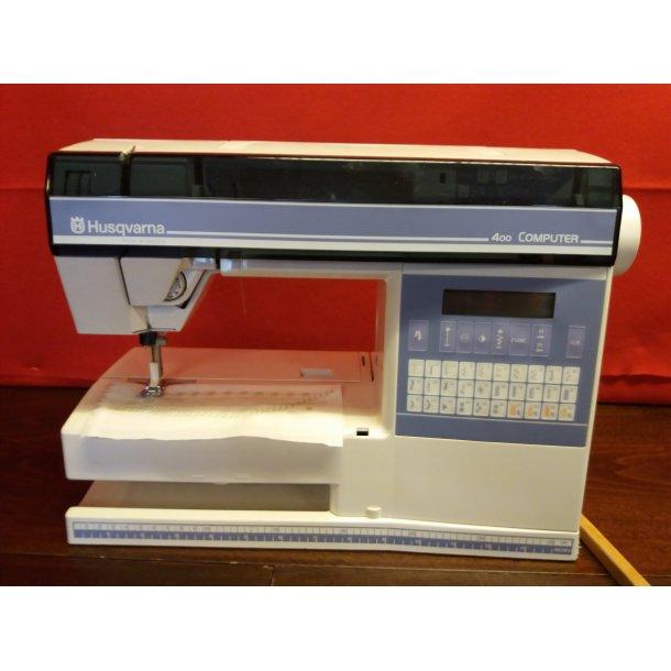 Brugt Husqvarna 400 Computer Symaskine Brugte Symaskiner Allans