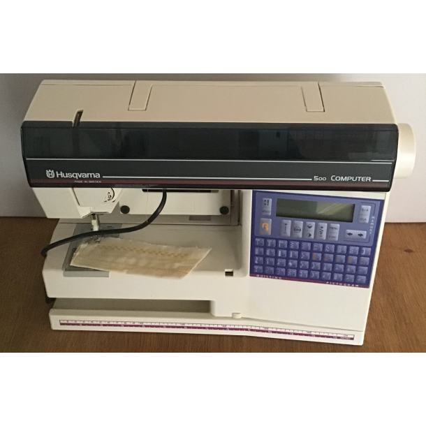 Lettere Brugt Husqvarna Viking Computer 500 Brugte Symaskiner