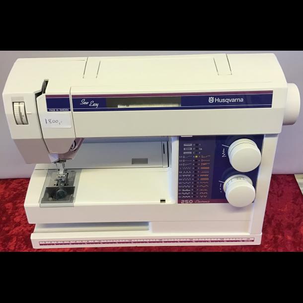 Lettere brugt Husqvarna Sew Easy 250 Electronic