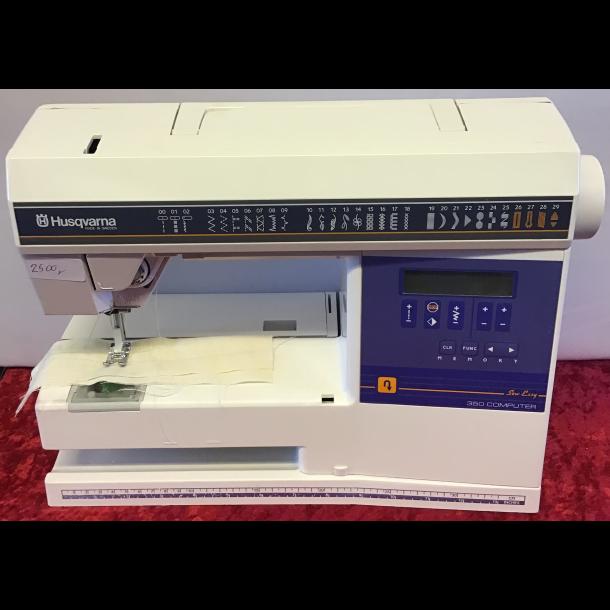 Lettere brugt Husqvarna Sew Easy 350 Computer
