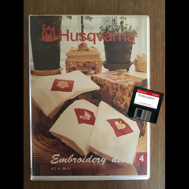 Husqvarna - Embroidery disk 4