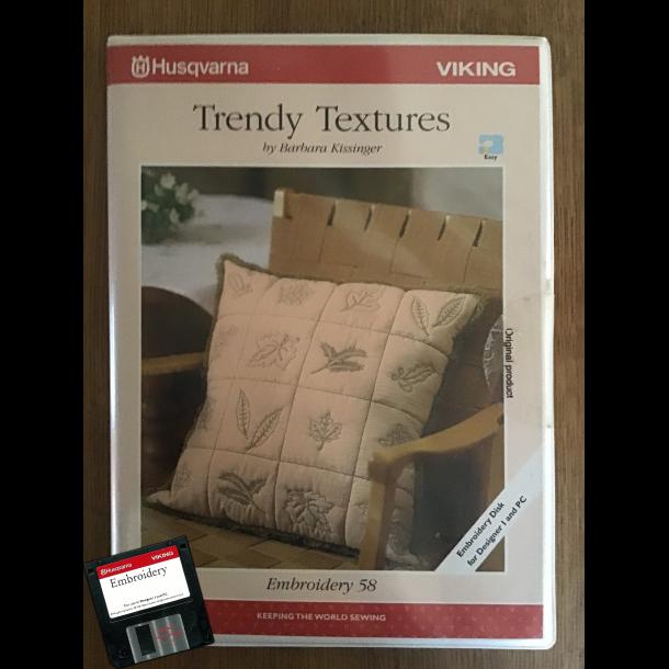 Husqvarna Viking - Trendy Textures by Barbara Kissinger