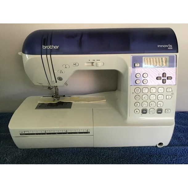 stof garn og symaskiner