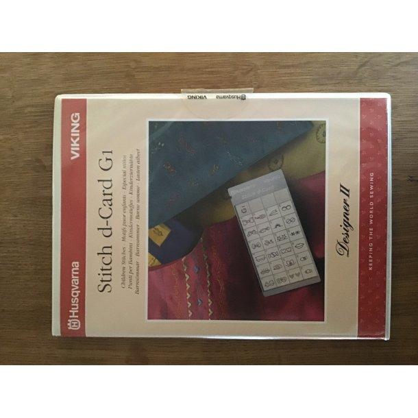 Husqvarna Viking - Stitch d-Card G1