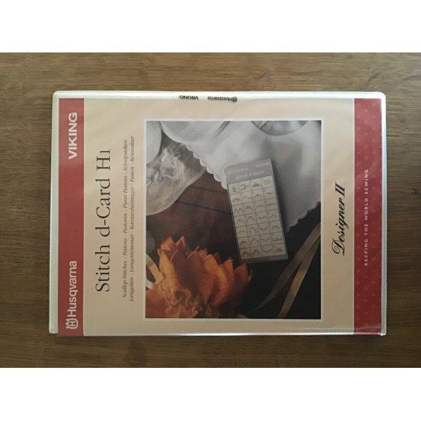 Husqvarna Viking - Stitch d-Card H1