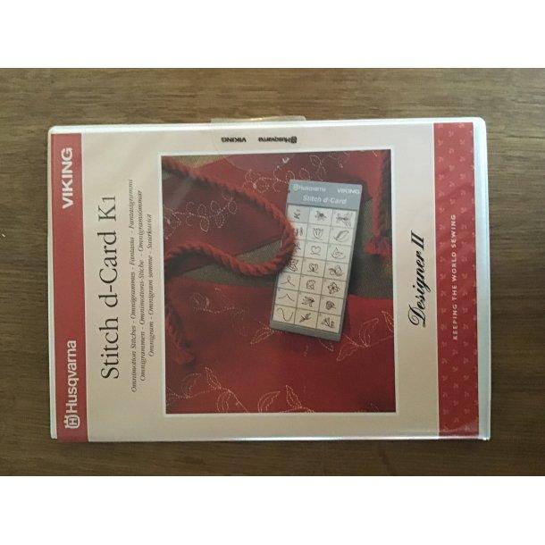 Husqvarna Viking - Stitch d-Card K1