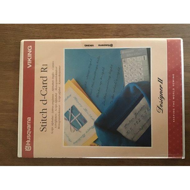 Husqvarna Viking - Stitch d-Card R1