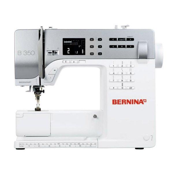BERNINA 350 PE med overtransportør mm.
