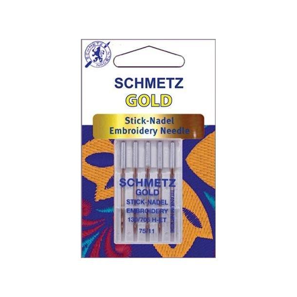 Schmetz Gold broderi nåle
