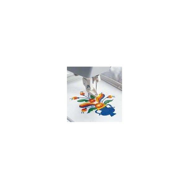Husqvarna Viking® Standard Hoop, 100 x 100 mm, Designer, Plat